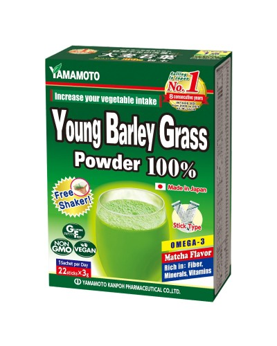 YOUNG BARLEY GRASS (22 SACHETS)