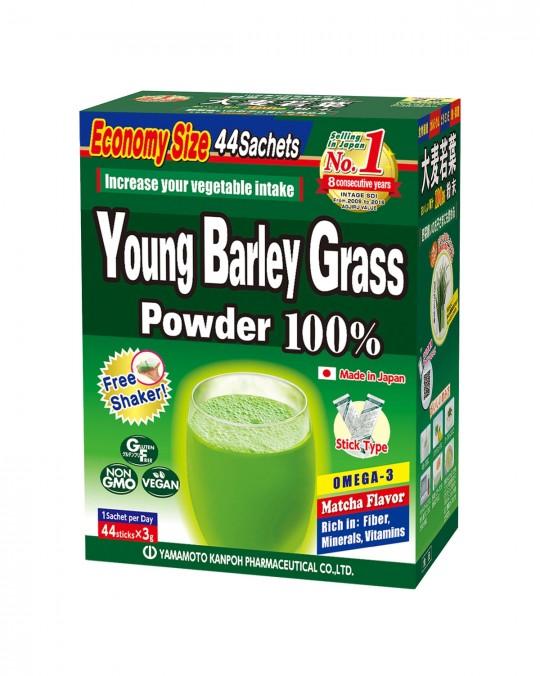 YOUNG BARLEY GRASS (44 SACHETS)